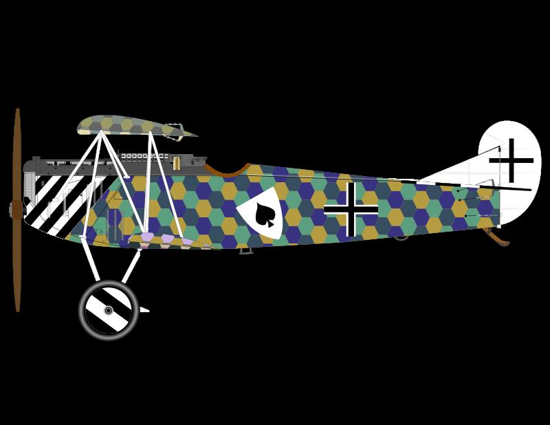 Clipart - FOKKER D VII