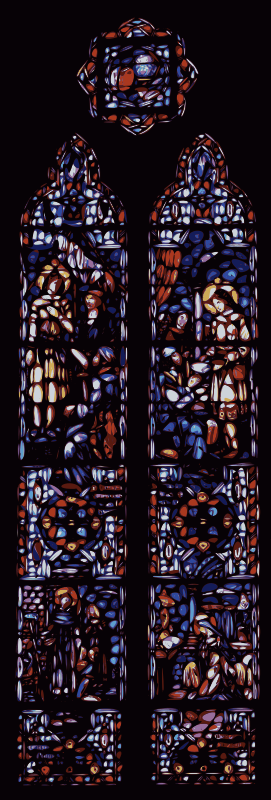 Stained Glass Window by j4p4n
