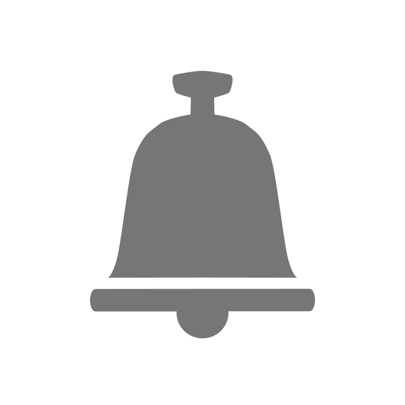 bell icon by dibargatin