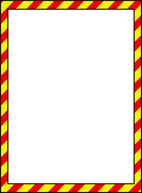 Clipart Caution Border 1