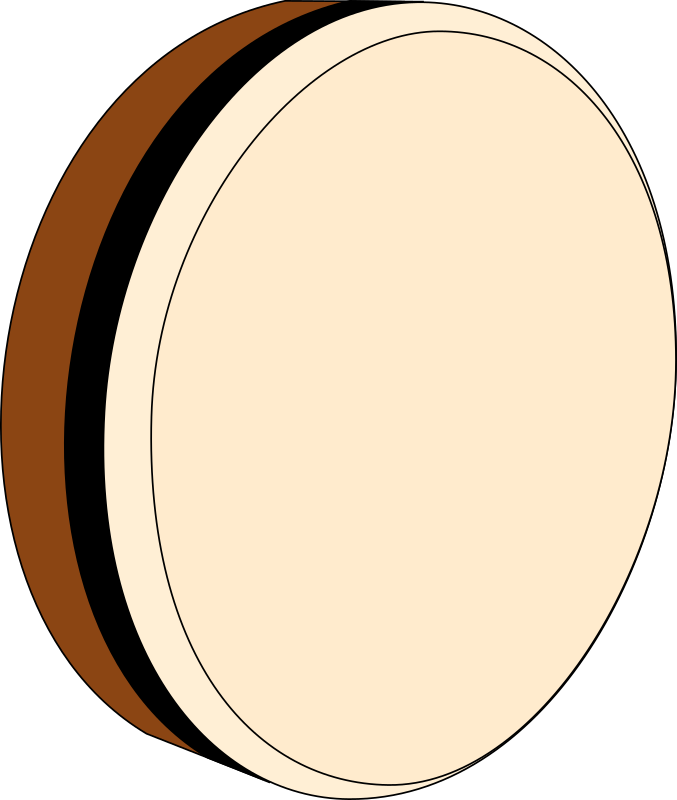 Bodhran by techwriter - The bodhran is a frame drum used in traditional Irish music.