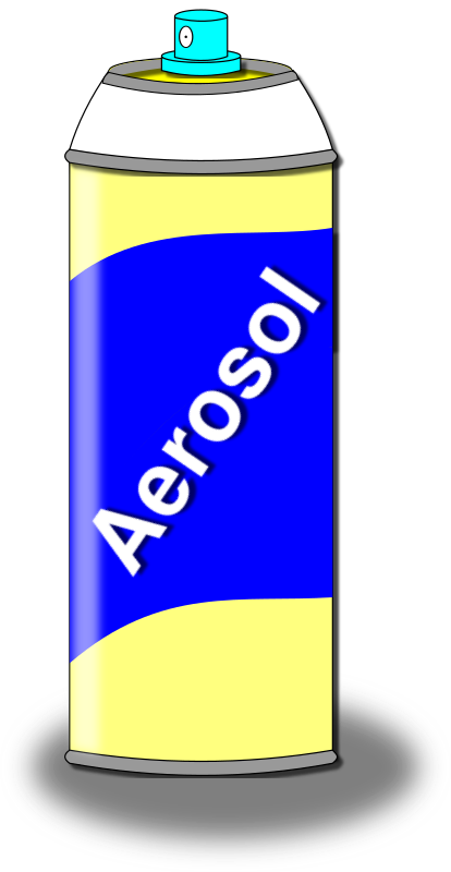 Aerosol Spray Can by algotruneman - Spray can with compressed gas propellant