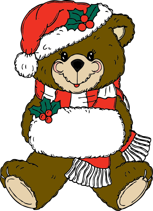 Christmas Bear by johnny_automatic
