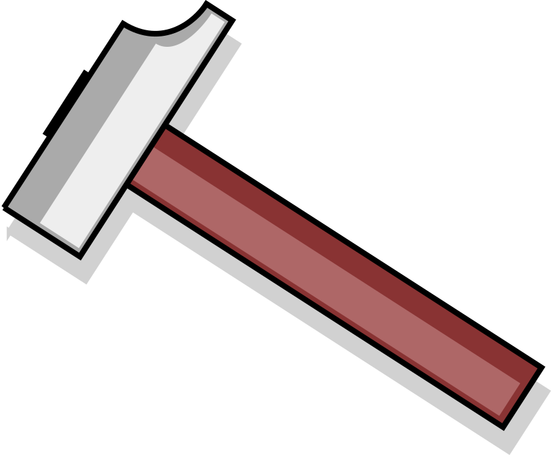 Hammer by PeterM - A drawing of a hammer