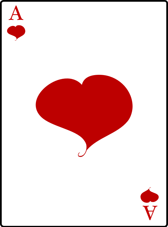 Ace of Hearts by casino