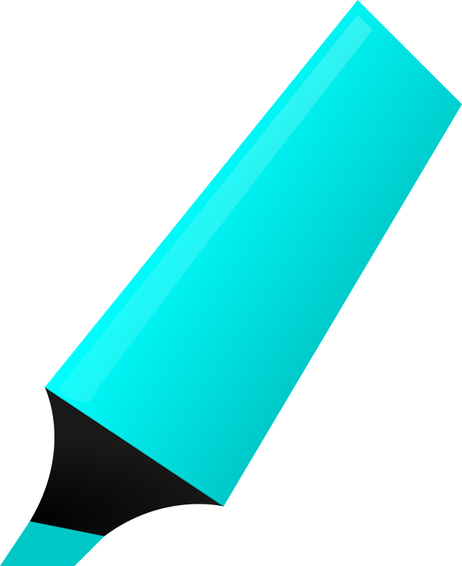 Cyan Highlighter by matheod - Cyan Highlighter
