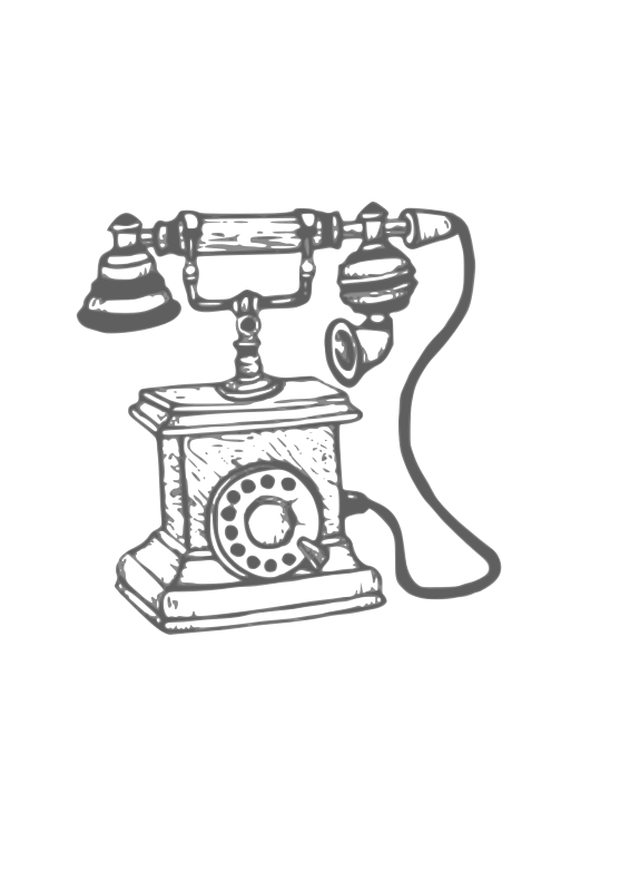 vintage telephone clipart - photo #38