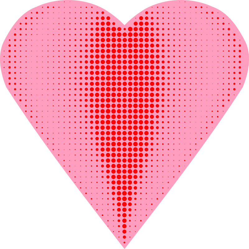 Heart Halftone by Arvin61r58
