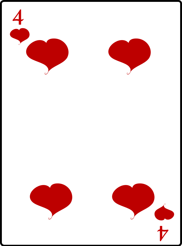 4 of Hearts by casino