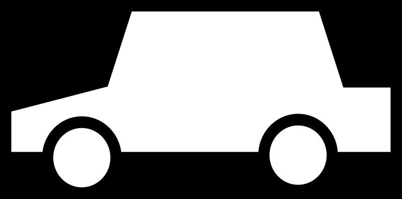 Clip Art Race Car Black And White