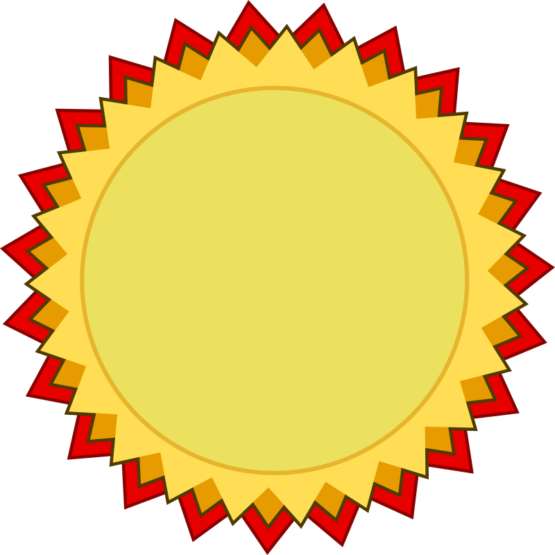 Blank Award of Medal and Achievement by qubodup