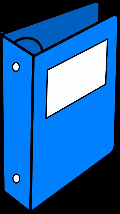 Clip Art Binder Clipart clipart blue binder medium image png