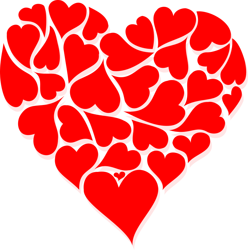 Clipart - Hearts for V...