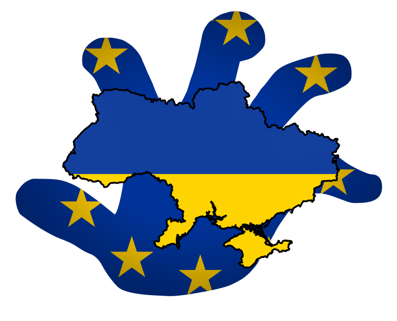 EU Ukraine by worker - Ukraine conflict and influence of the EU
