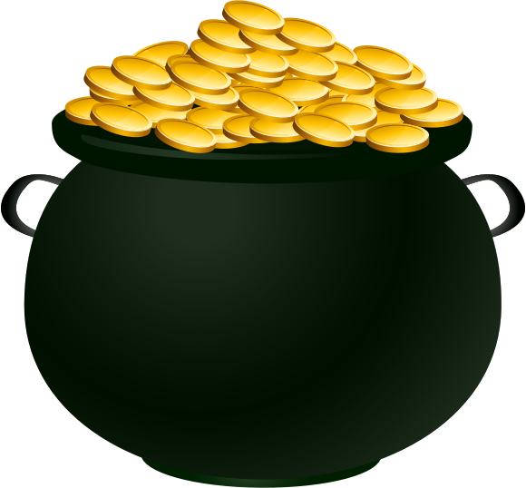 Pot of Gold by casino - A pot of gold!