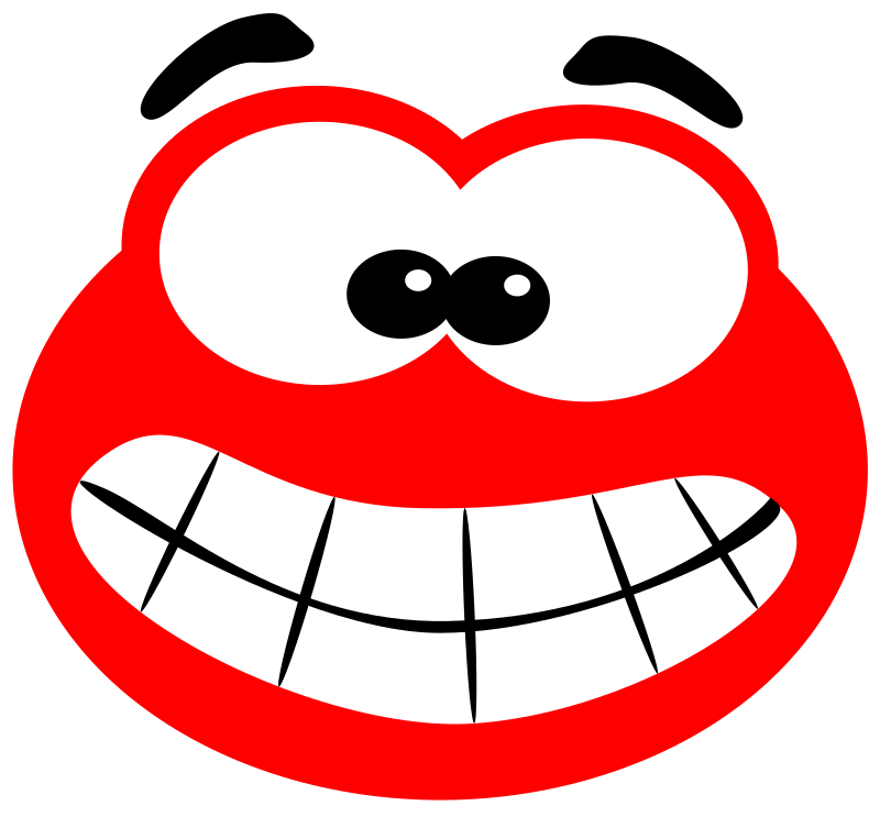 Blob smiling by svk-ab - A smiling little Blob. Made with Inkscape after reading a tutorial on 2DGameArtForProgrammers.