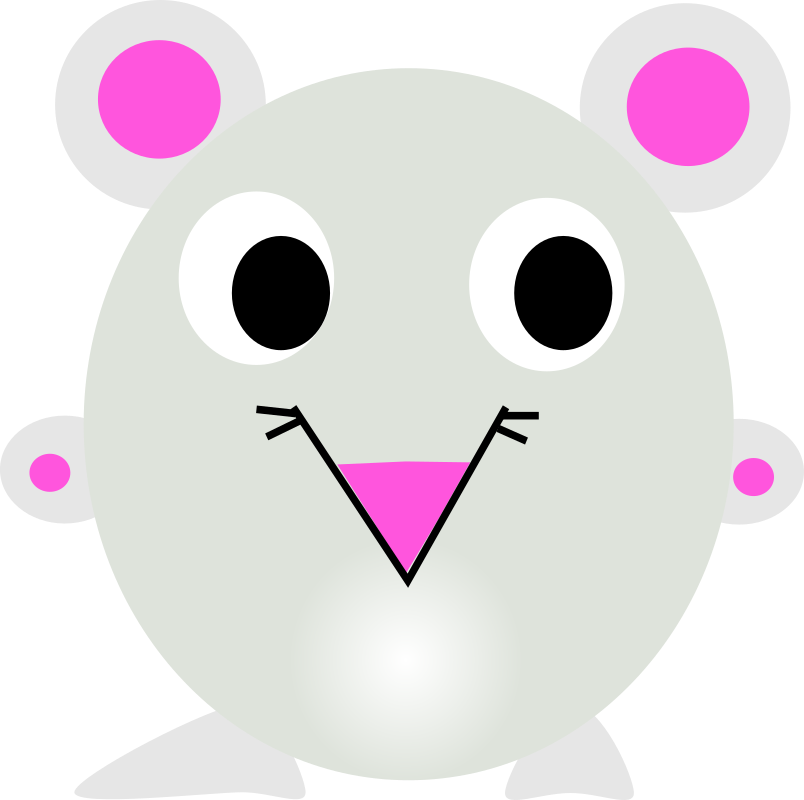 Clipart - Chinese zodiac rat