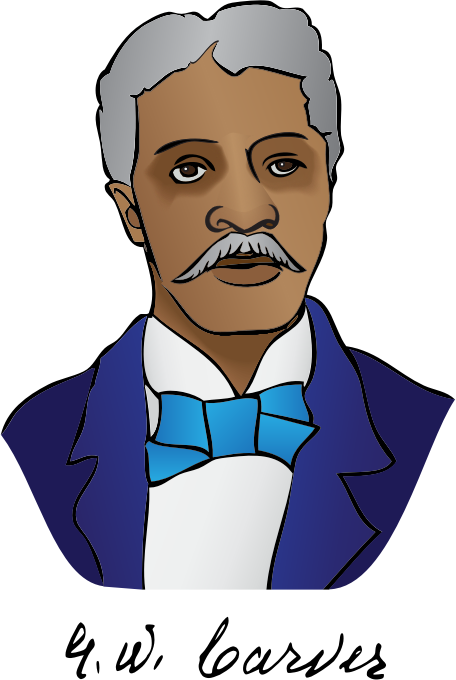 George Washington Carver by bnsonger47 - A simple drawing of George Washington Carver (1864-1943), an American scientist, botanist, educator, and inventor.