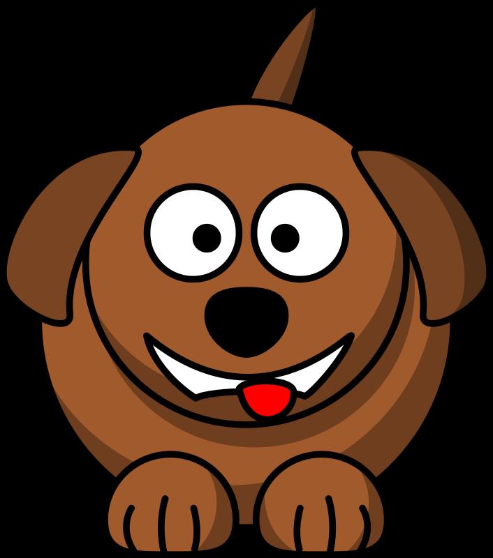 Laughing Dog Cartoon