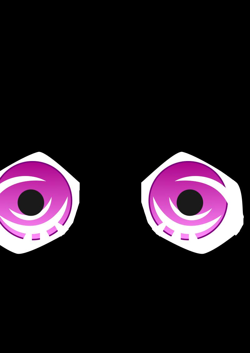 anime eyes clipart - photo #21