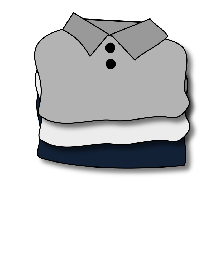 folded clothes by loveandread - folded clothes, folded, t-shirts: https://openclipart.org/detail/190826/folded-clothes-by-loveandread...