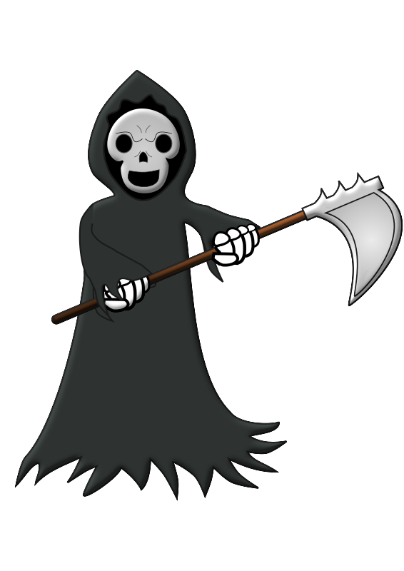 Toon Grimm Reaper  by firestorm200 - This is my first try for a Reaper