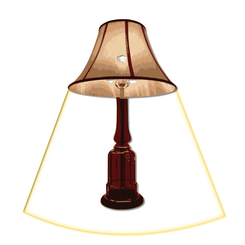table lamp turn on by loveandread - table lamp, turn on, switch on, lamp
