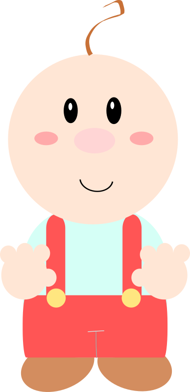 Cartoon baby soft by Dog99x - It is a cartoon baby learning how to walk