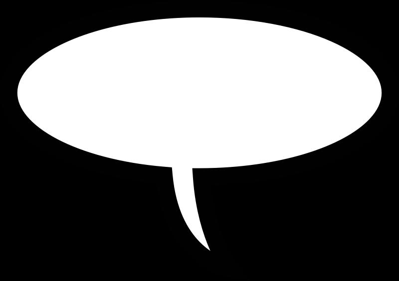 Clipart - Speech Bubbles