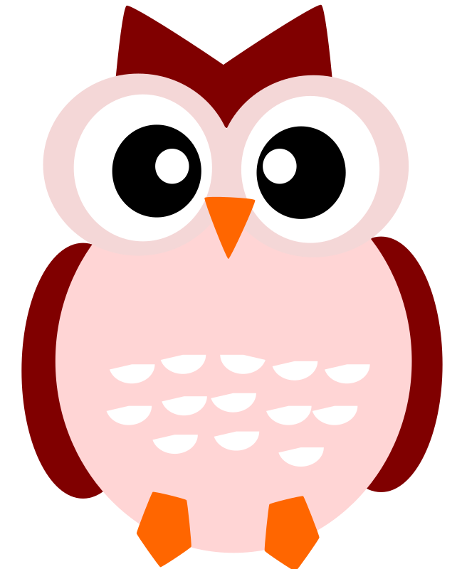 a cute owl by loveandread - A cute owl is smiling at you!