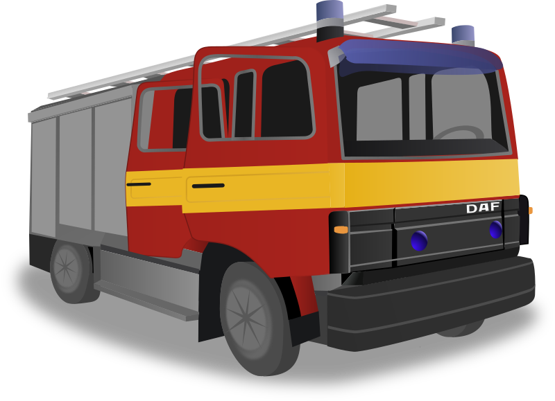 Fire truck by rdevries - A stand alone fire truck