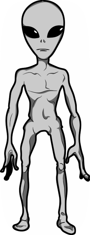 Grey Alien Humanoid by jpneok