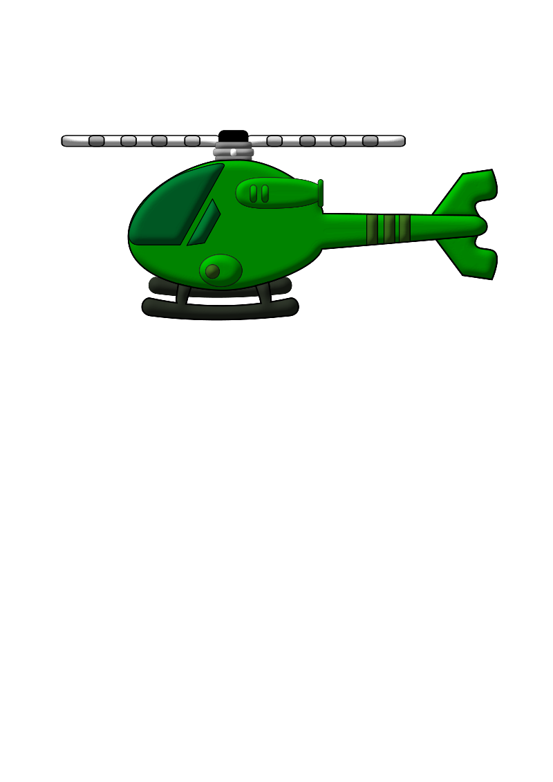 Helicopter by firestorm200 - An image off a green helicopter
