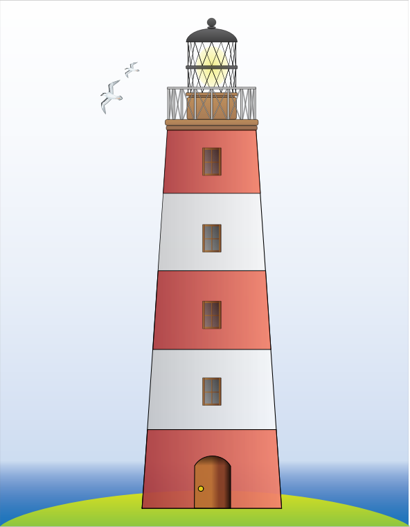 Lighthouse by bnsonger47 - Just a simple image of a lighthouse.