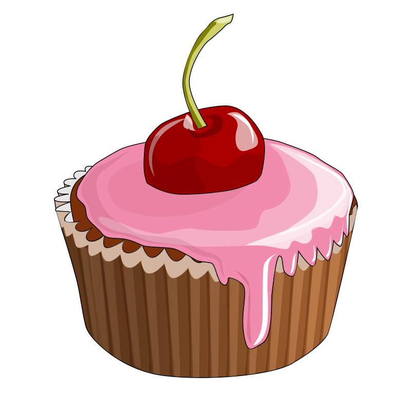 Cherry Cupcake by bktheman - Cherry cupcake