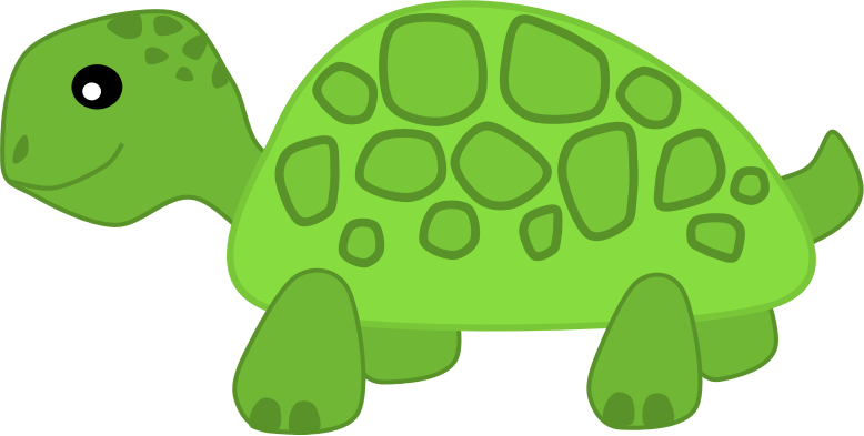 Turtle by Scout - A clipart of a turtle