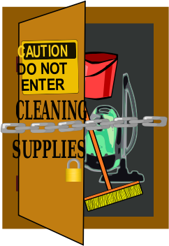 do not clean by evaline02 - Locked cleaning room
