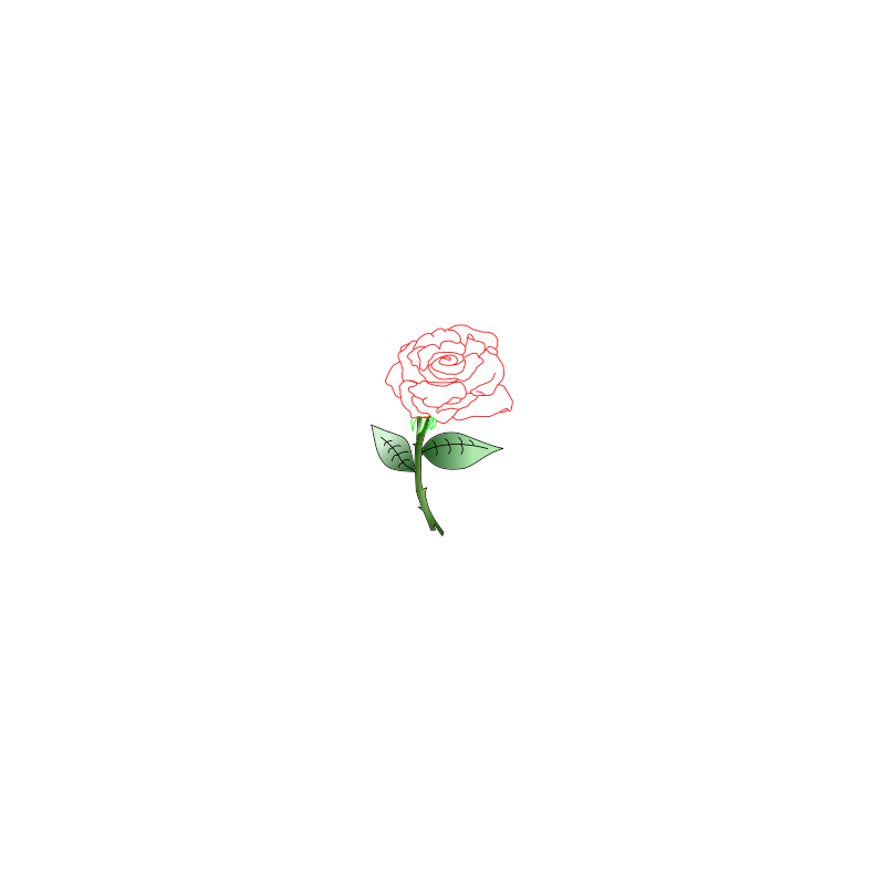 Single Rose by Siddymcbill