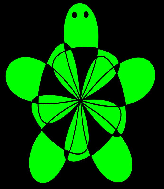 green turtle clip art - photo #39