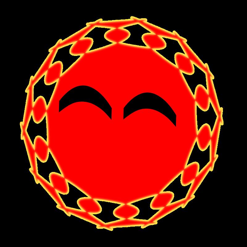 Clipart - smile sun