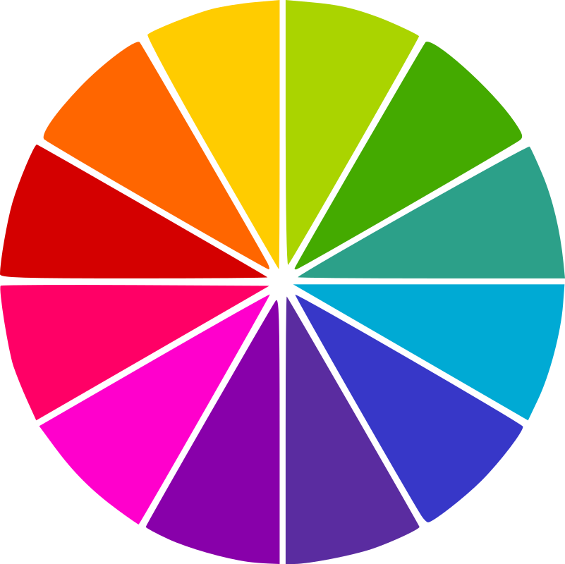 Círculo Cromático by silbiadinamitic - Circulo Cromativo (color wheel)
