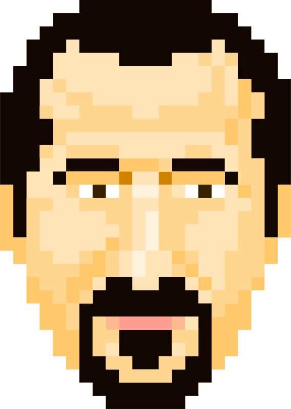 Bassel Pixel Art by pianoBrad - A 32-bit variation on the bassel avatar