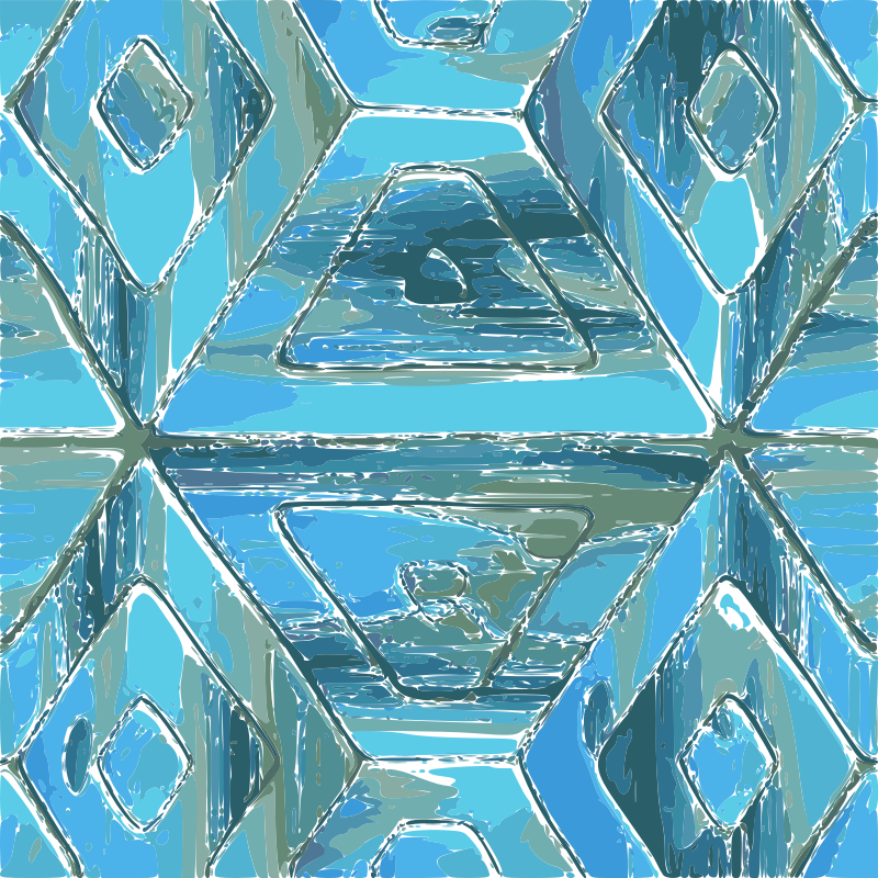 Turquoise Tile Pattern by username_Its_me - a pattern