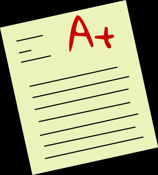 Go Back > Gallery For > Test Grade Clip Art