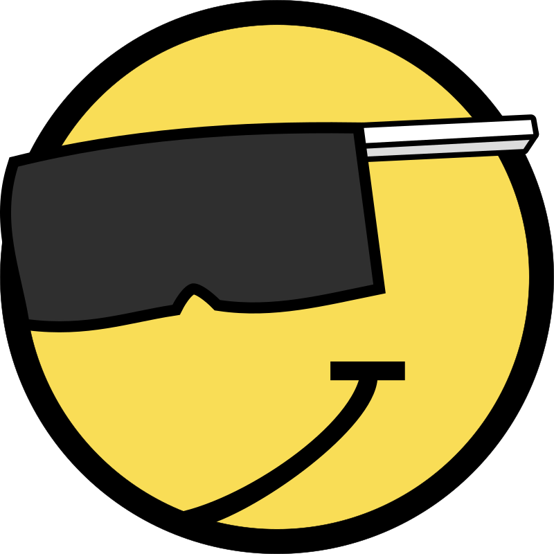 Clipart - Cool Smiley