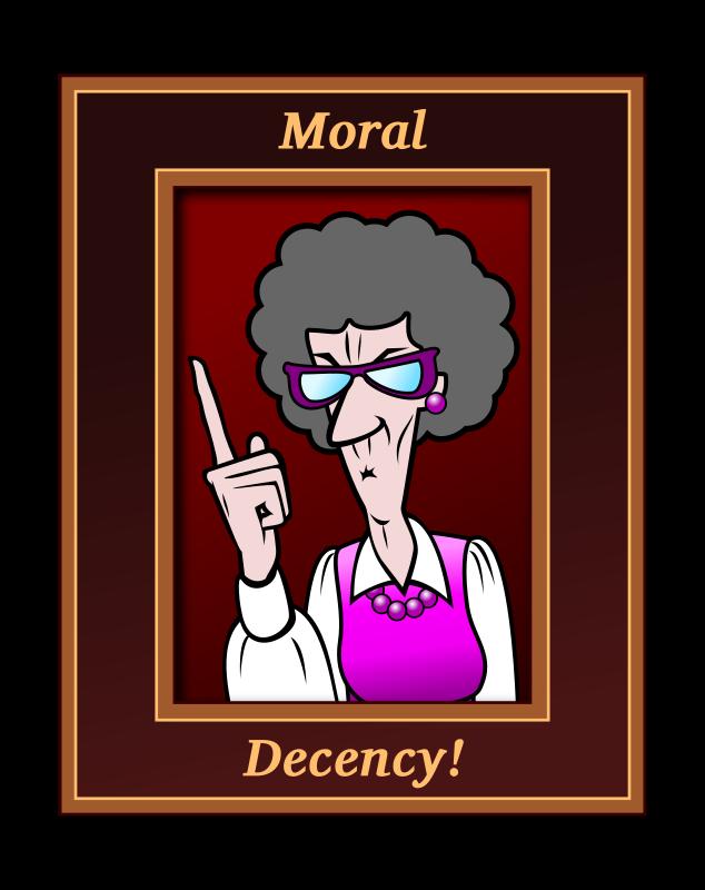 Clipart Moral Decency