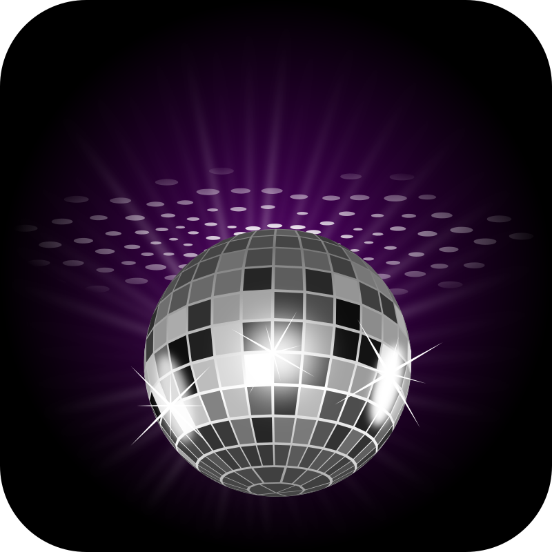 Disco ball by Keistutis - A disco ball in a dacing.