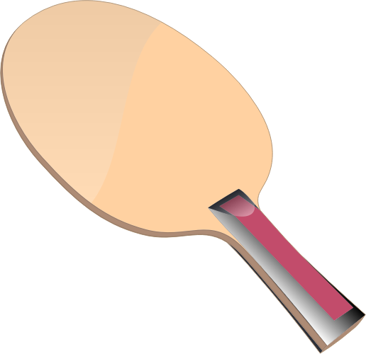 Ping Pong bat by casino - A Ping Pong bat