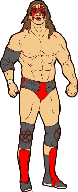 Muscular Professional Wrestler by jpneok