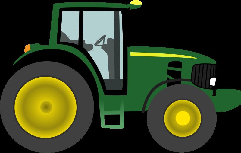 Farm Equipment Clip Art : Clipart farm tractor